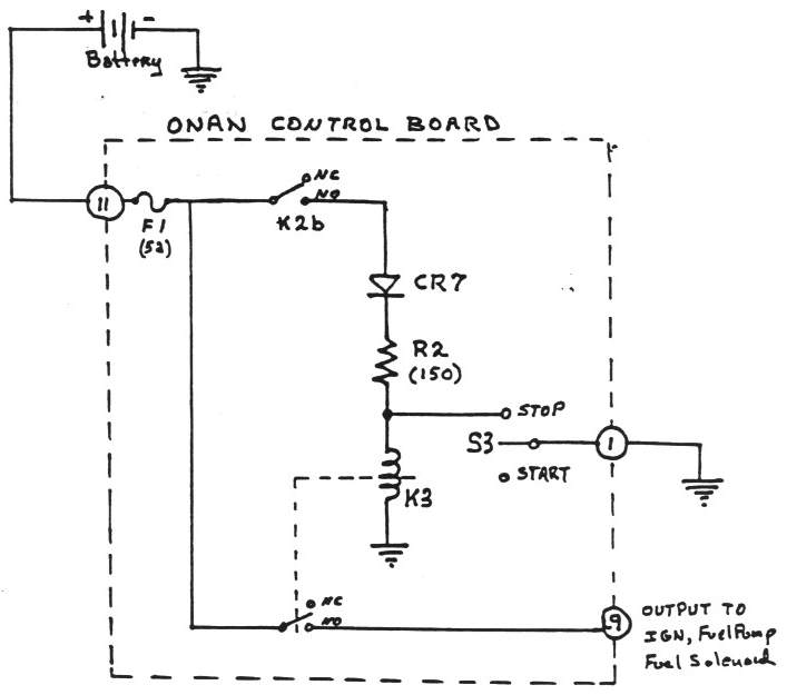 onan control board operation Reliance Transfer Switch Wiring Diagram stop circuit schematic diagram large view