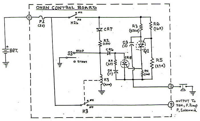 Onan Control Board Operation